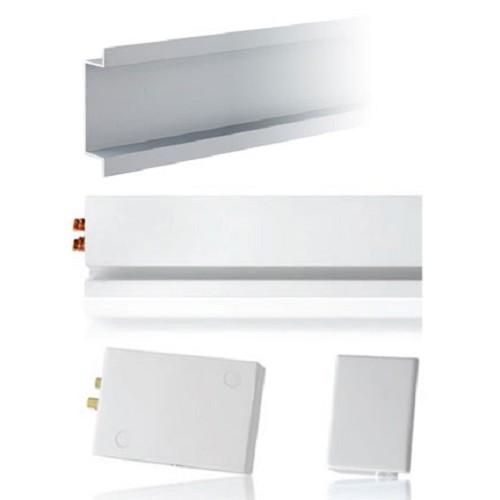 MAINLINE Starter Kit Right Terminal Block with Flush Mount Housing [MLWRF] - White - Power Track